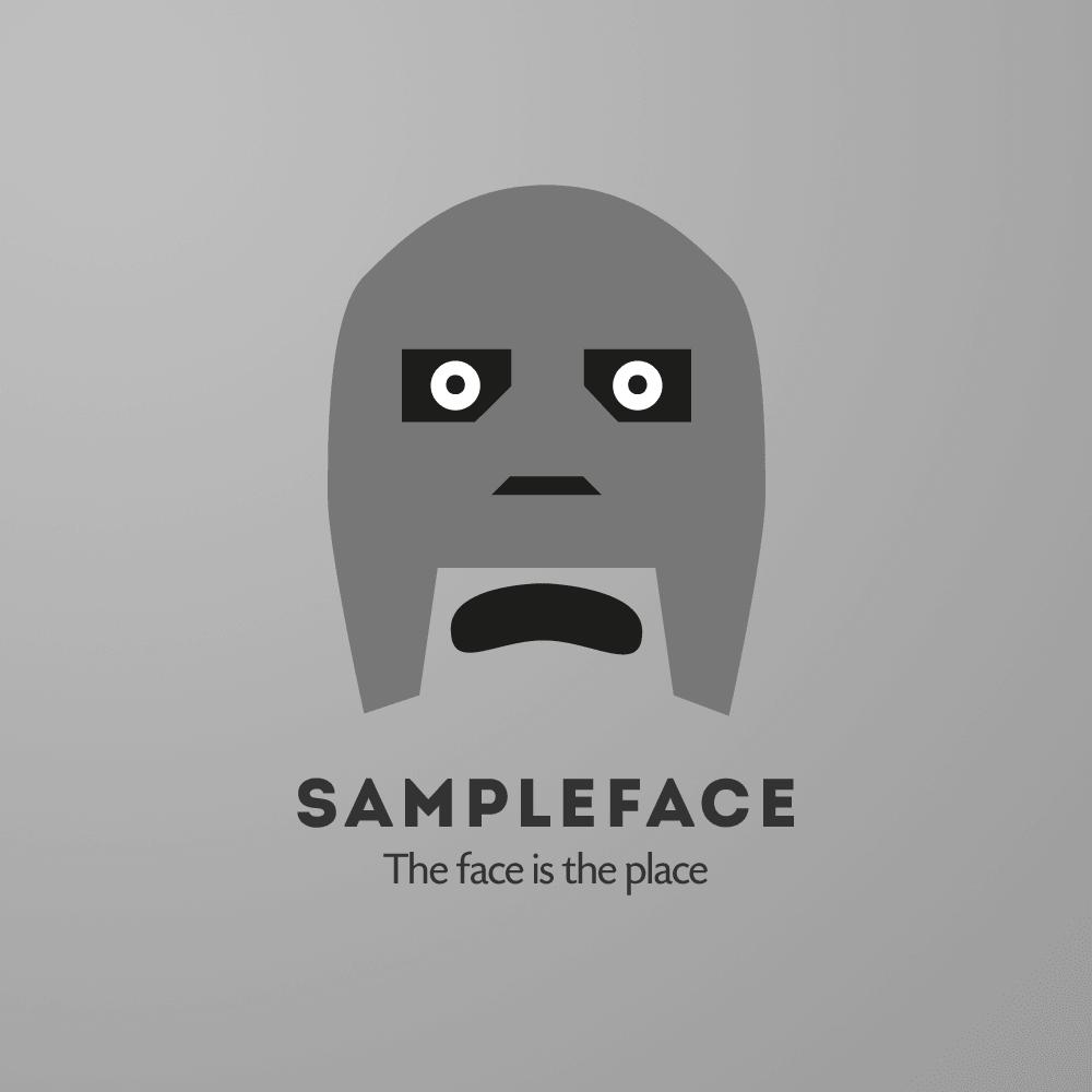 sampleface newlogo