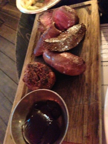 Venison Mixed Grill