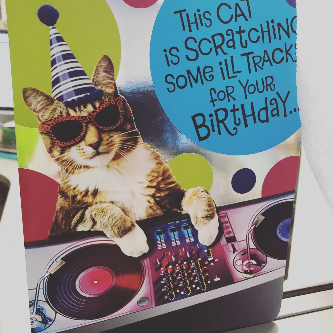 ridiculous coworker birthday card thank you