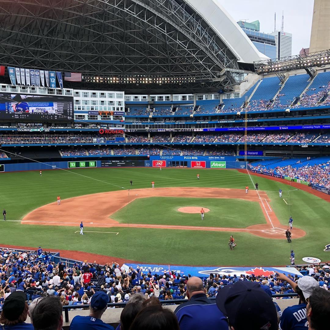 looking at baseball