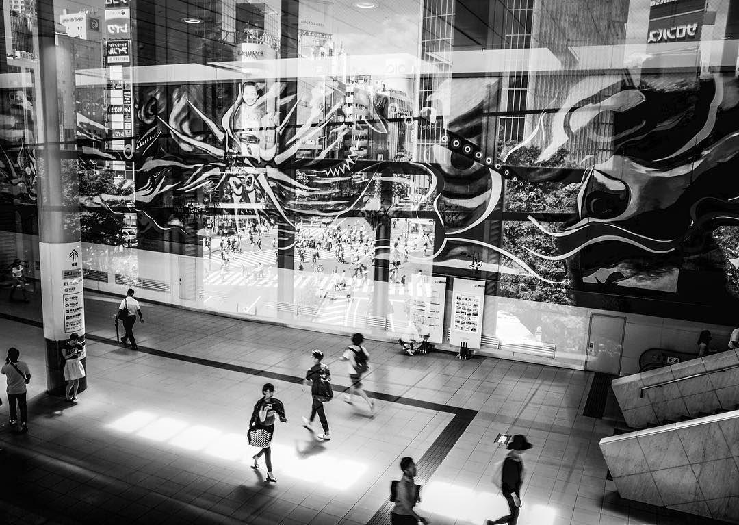 Shibuya Crossing Beneath The Myth of Tomorrow