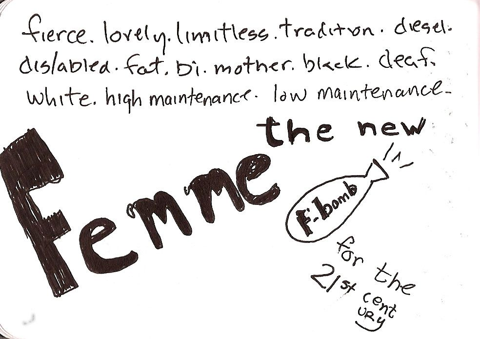 Femme: The new F bomb