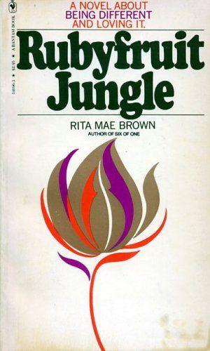 cover of rita mae brown's rubyfruit jungle