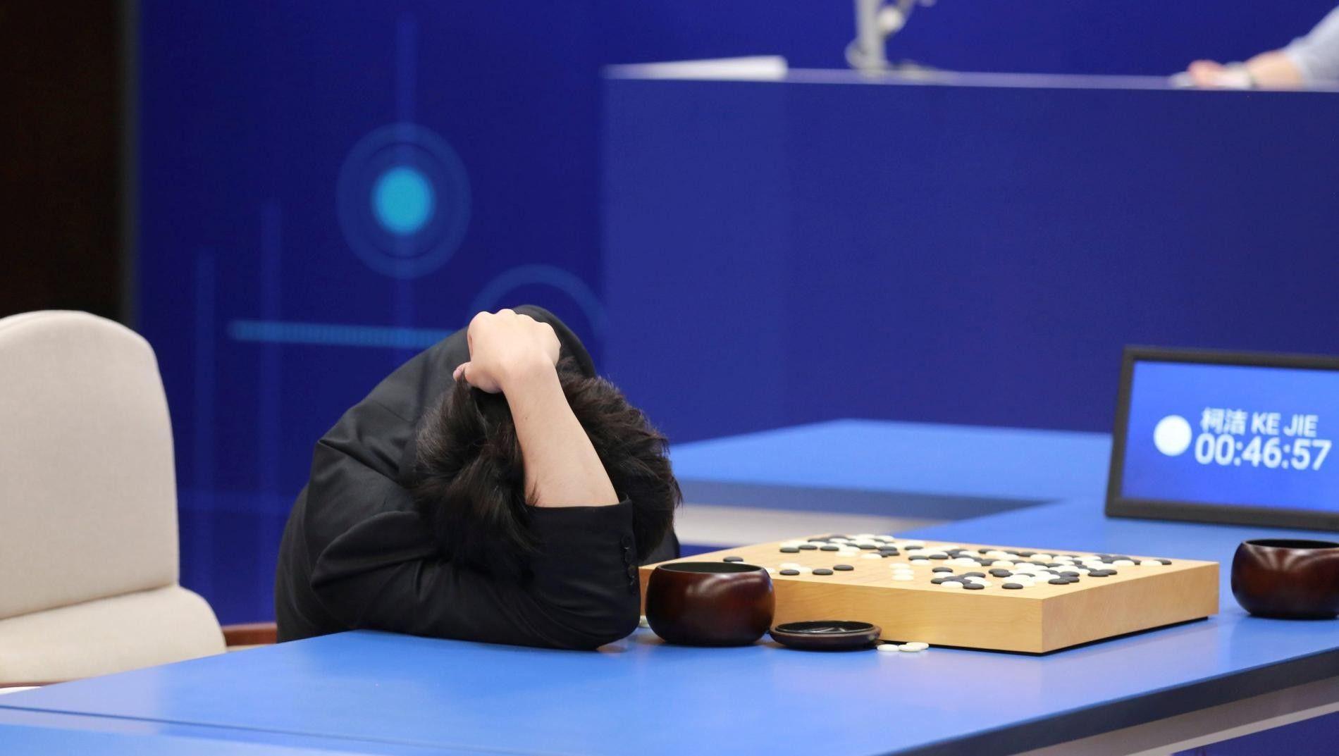 Abbildung 7: Ke Jie gegen AlphaGo, Reuters/Stringer