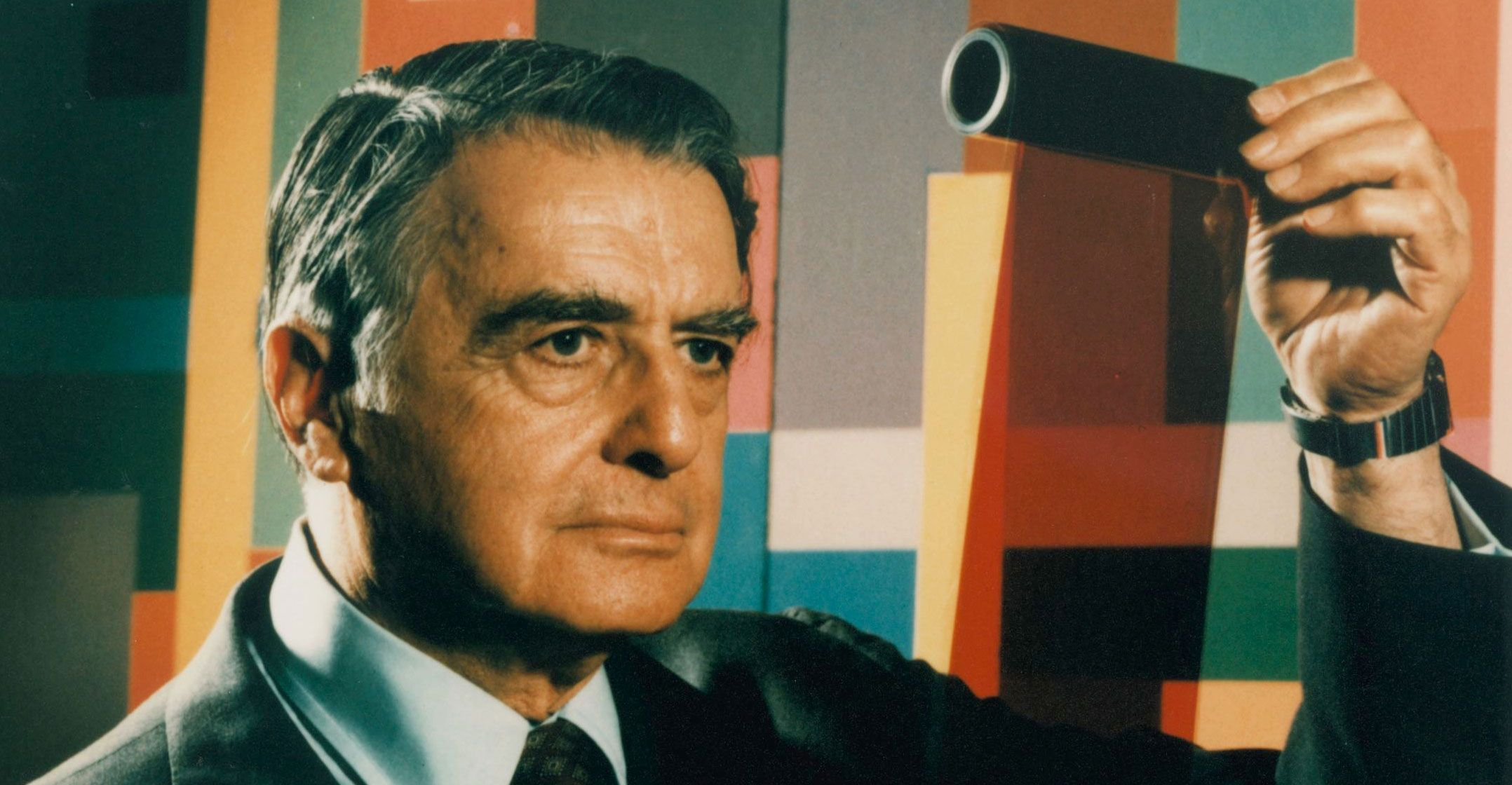 Edwin Land. Photo by JJ Scarpetti, courtesy of The Rowland Institute at Harvard