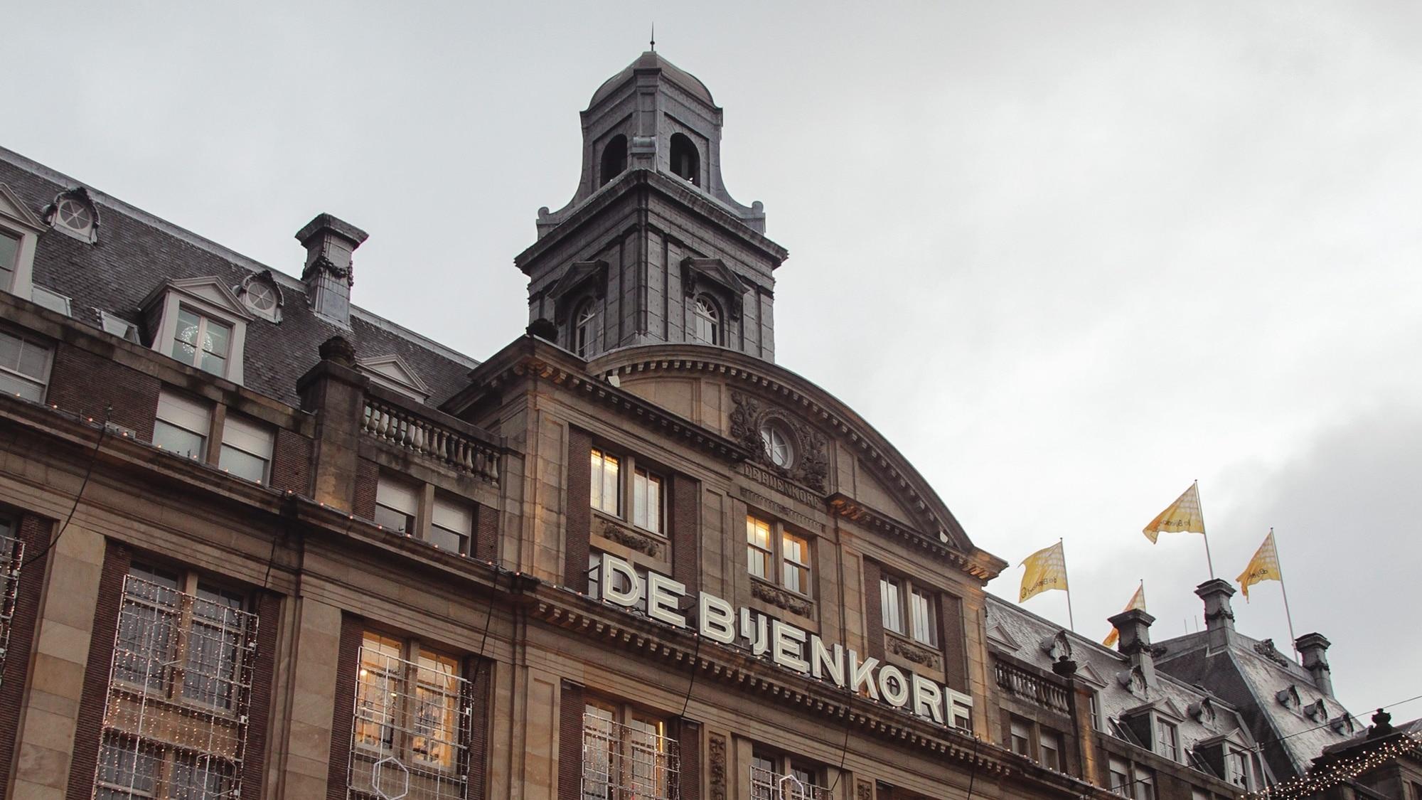 Nice buildings, Amsterdam.