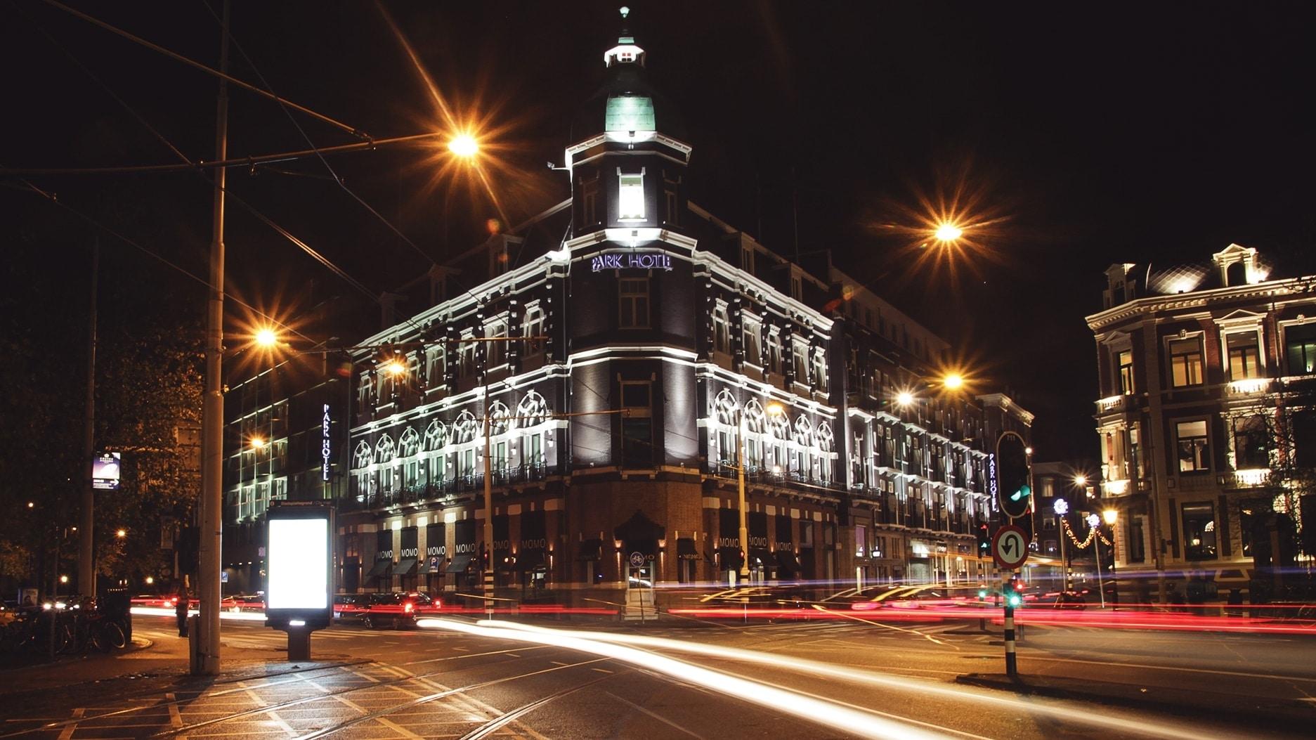 Night photography, take 1.