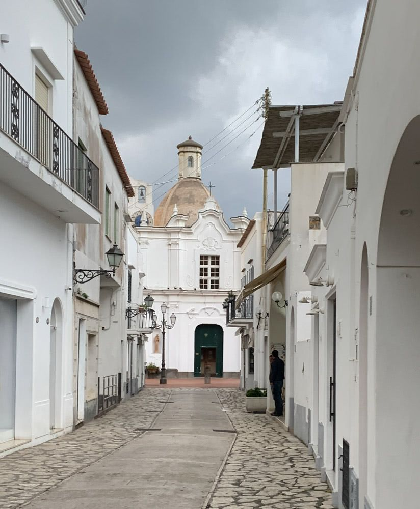 A street in Anacapri
