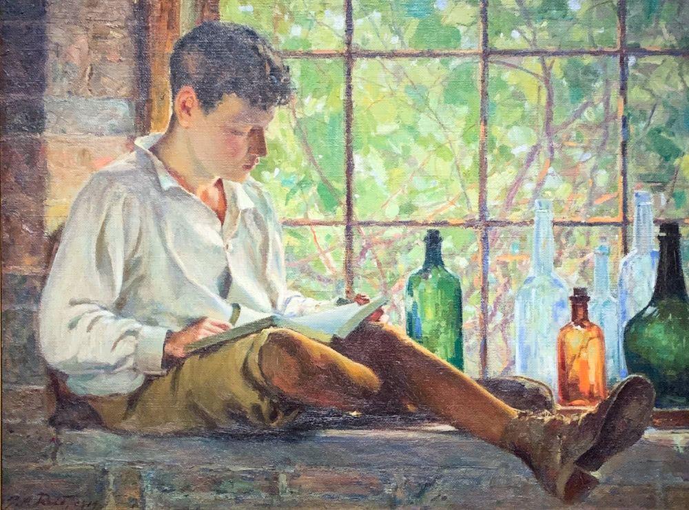 George Reid: In The Cellar Window
