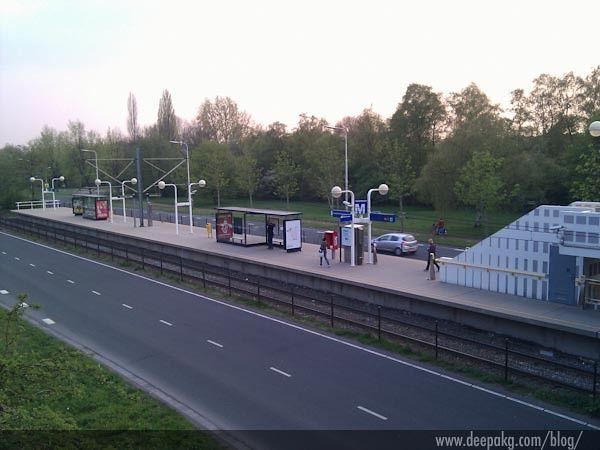 Oudekerkerlaan - my metro station for a fortnight