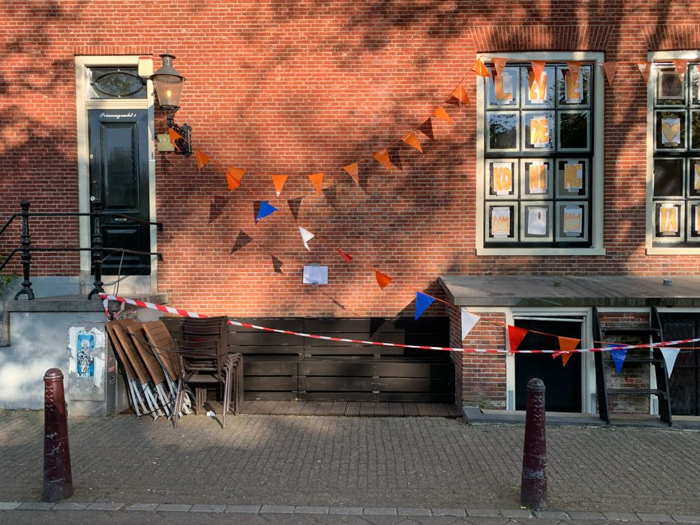 Bunting and barricade tape