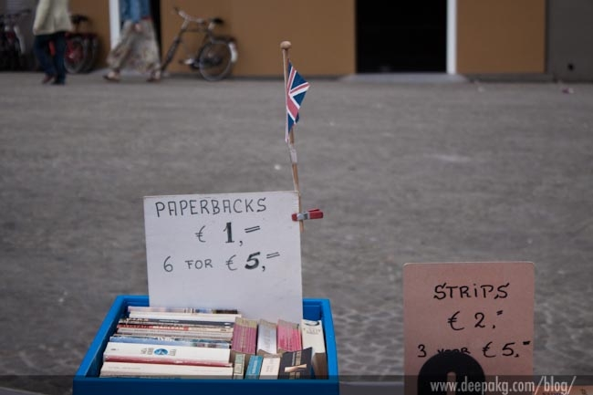Dam square book fair