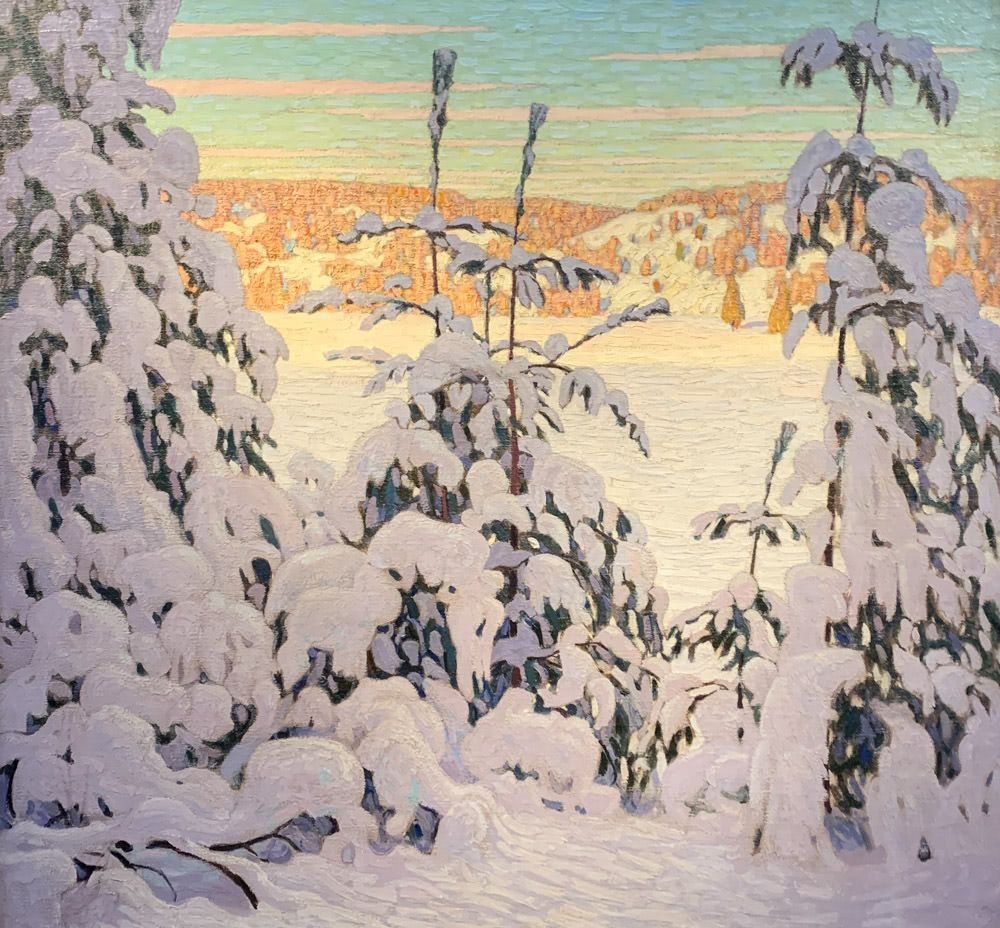 Lawren S. Harris: Snow II