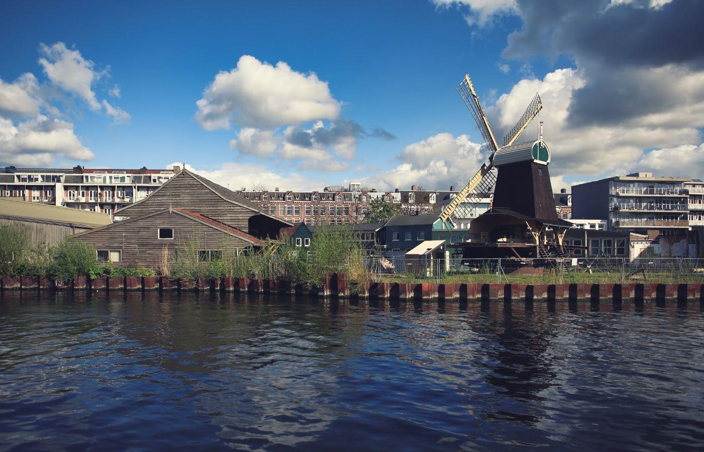 The windmill near Erasmuspark