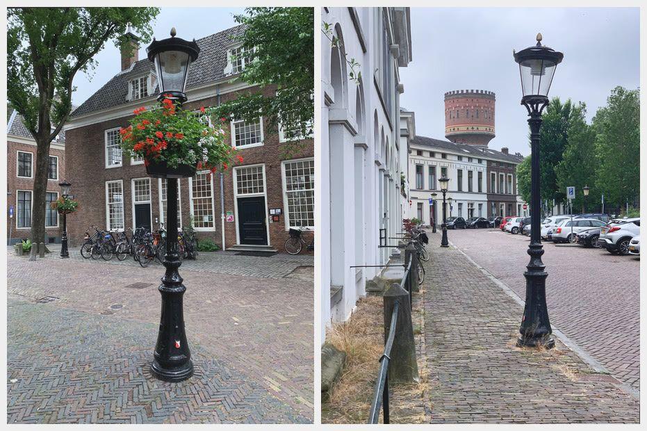The distinctive Utrecht lamposts