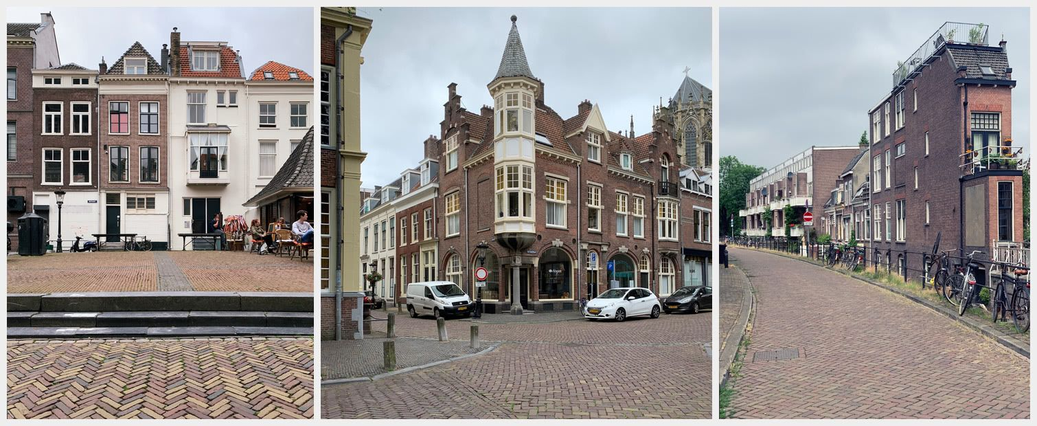 The general architecture you come across in Utrecht