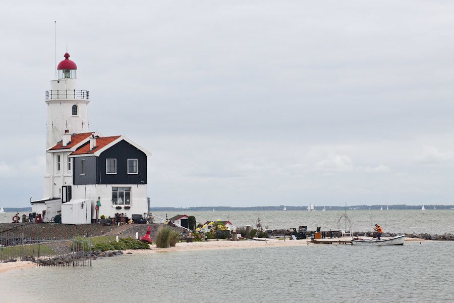 The lighthouse at Marken