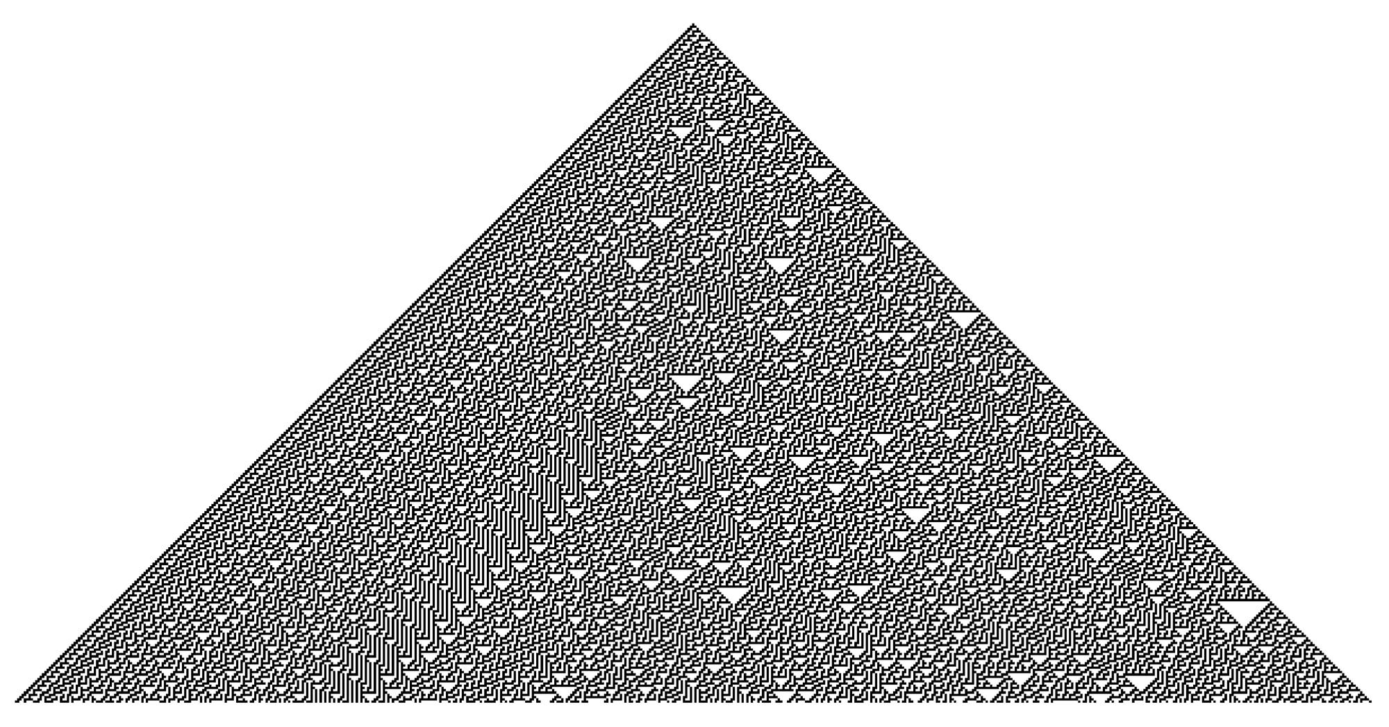 Rule 30 Output, 300 steps