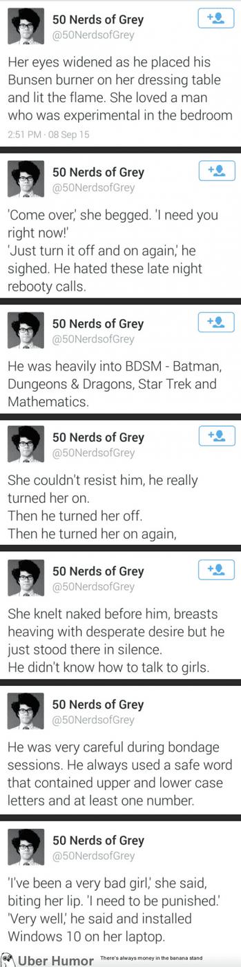 50 Nerds of Gray