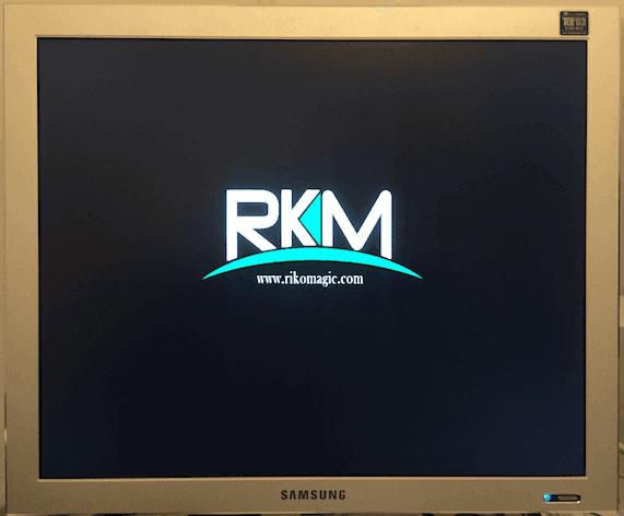 Boot stuck at Rikomagic logo