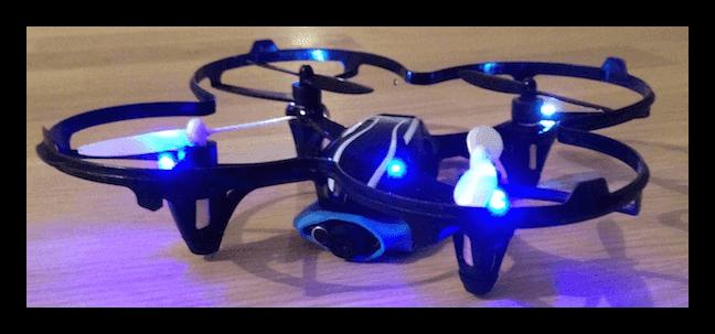 Hubsan X4 V2 and mounted camera