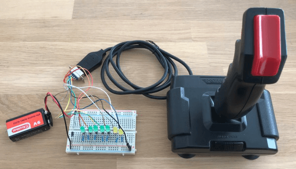 Joystick Tester Prototype
