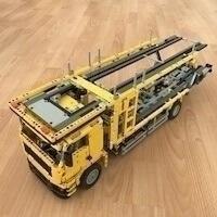 LEGO Set MOC-4075 - Car Transporter (42009 D-Model)