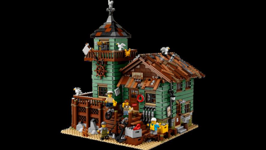Lego Fishing Store
