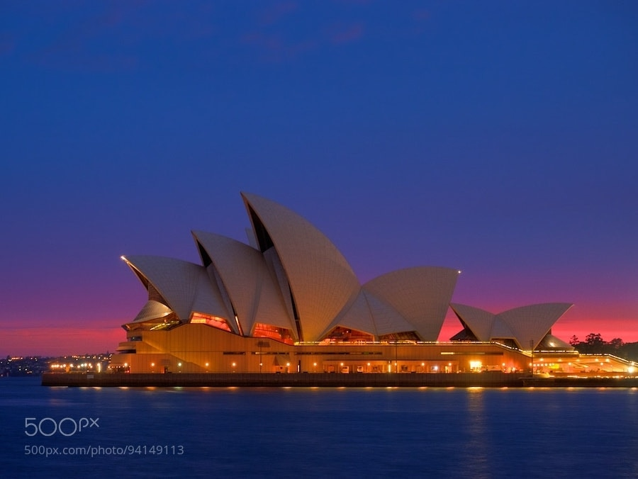 Photograph Operatic Sunrise by Des Paroz on 500px