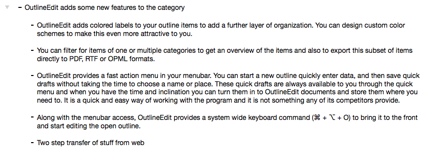 OutlineEdit Unfolded