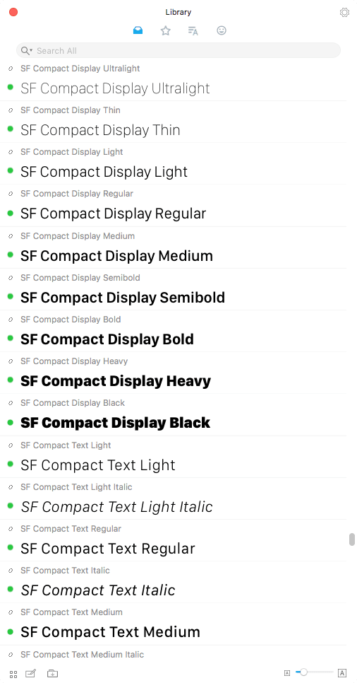 RightFont Library