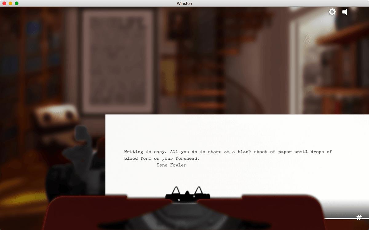 Winston the Typewriter