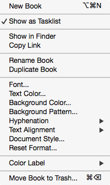 Notebooks as Tasklists