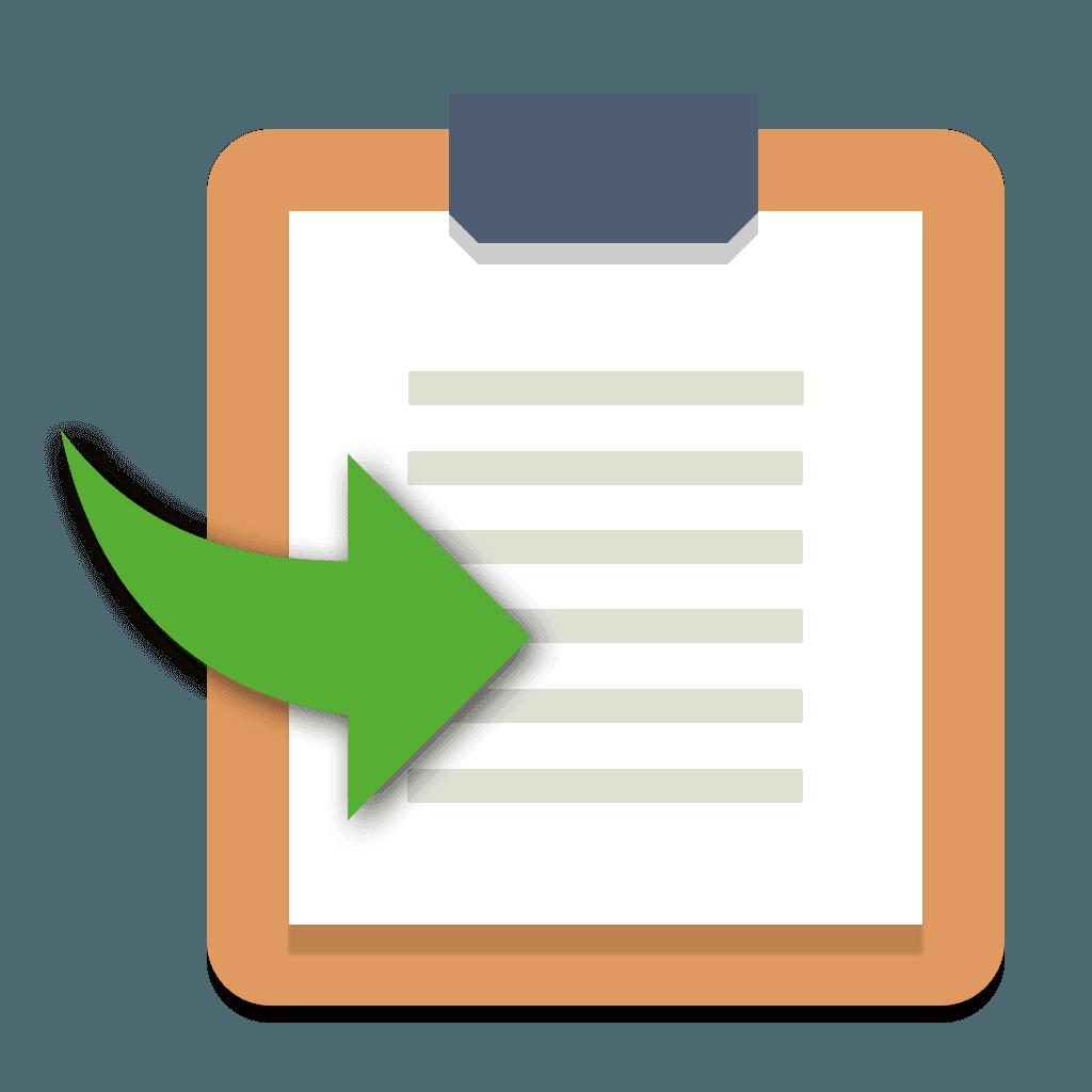 Copy Contents Icon