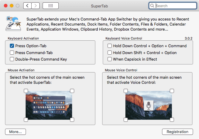 SuperTab Preferences 1