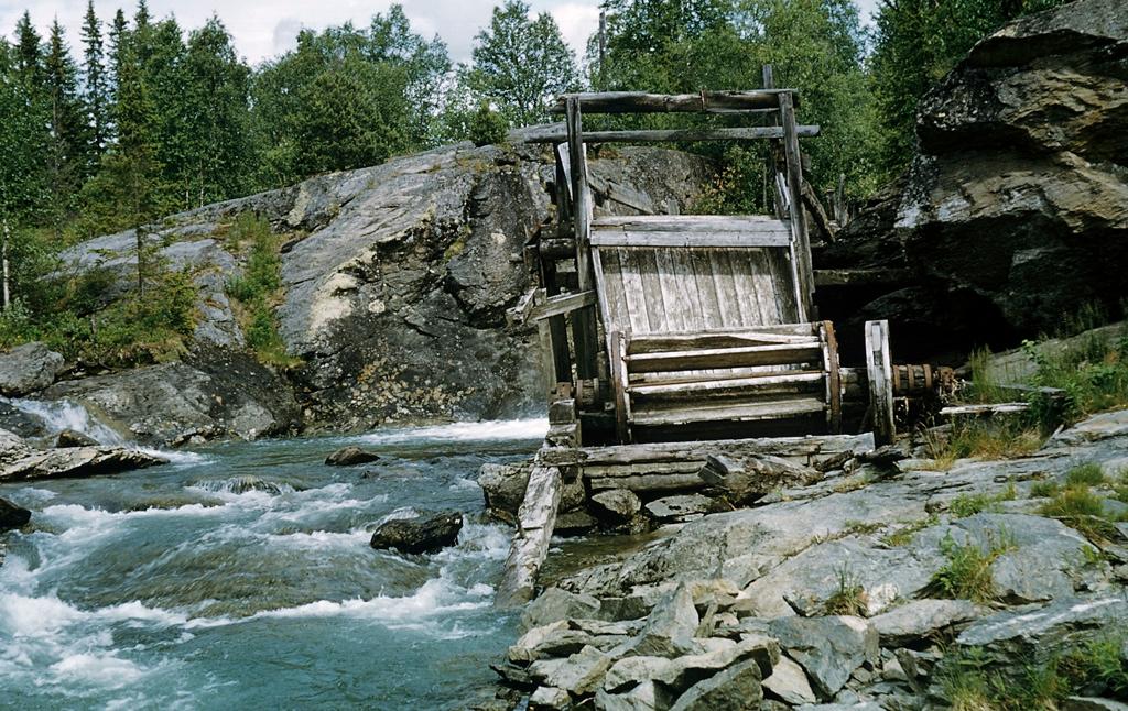 old watermill at kamajokk