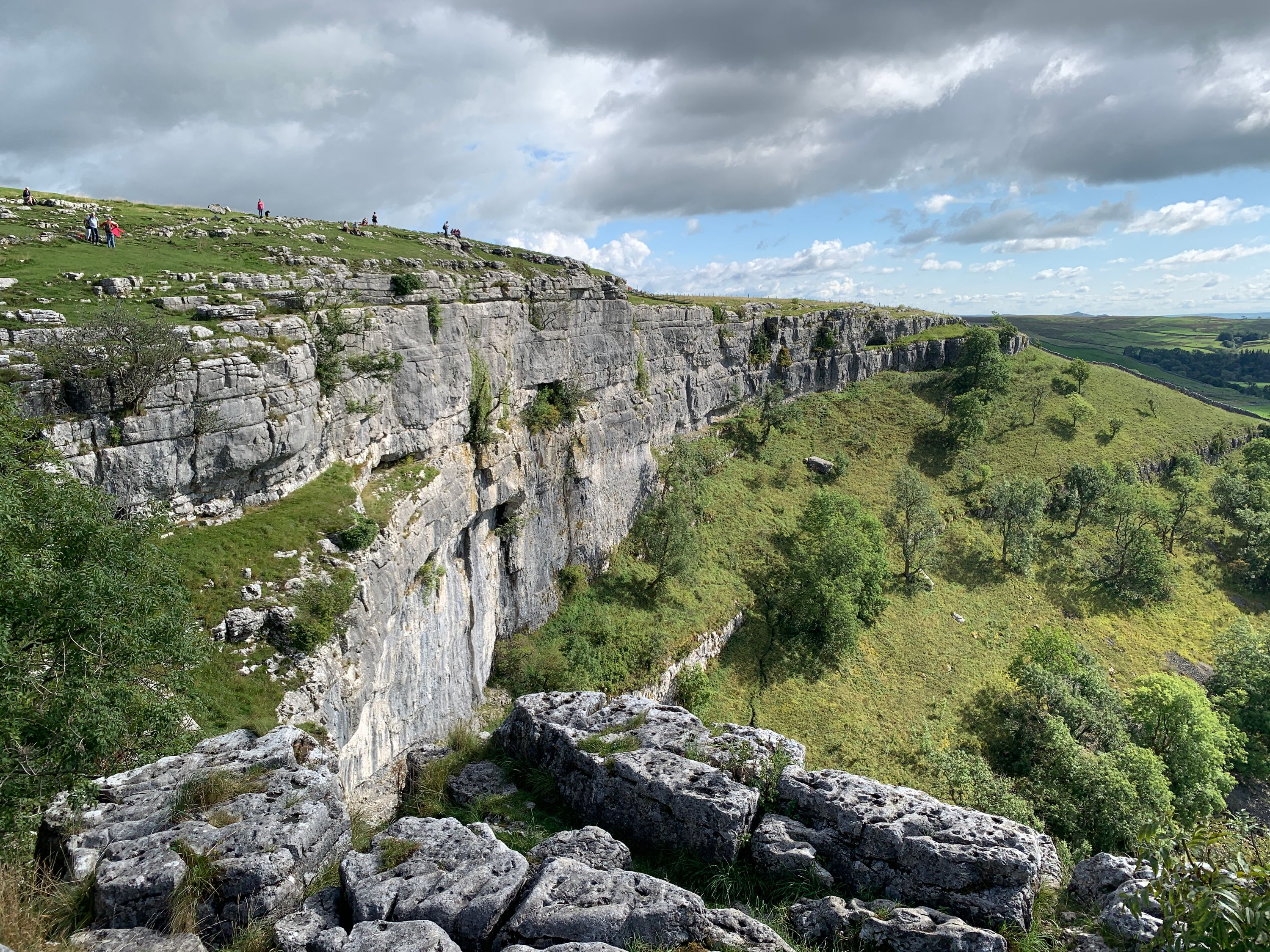 Malham Cove from the top