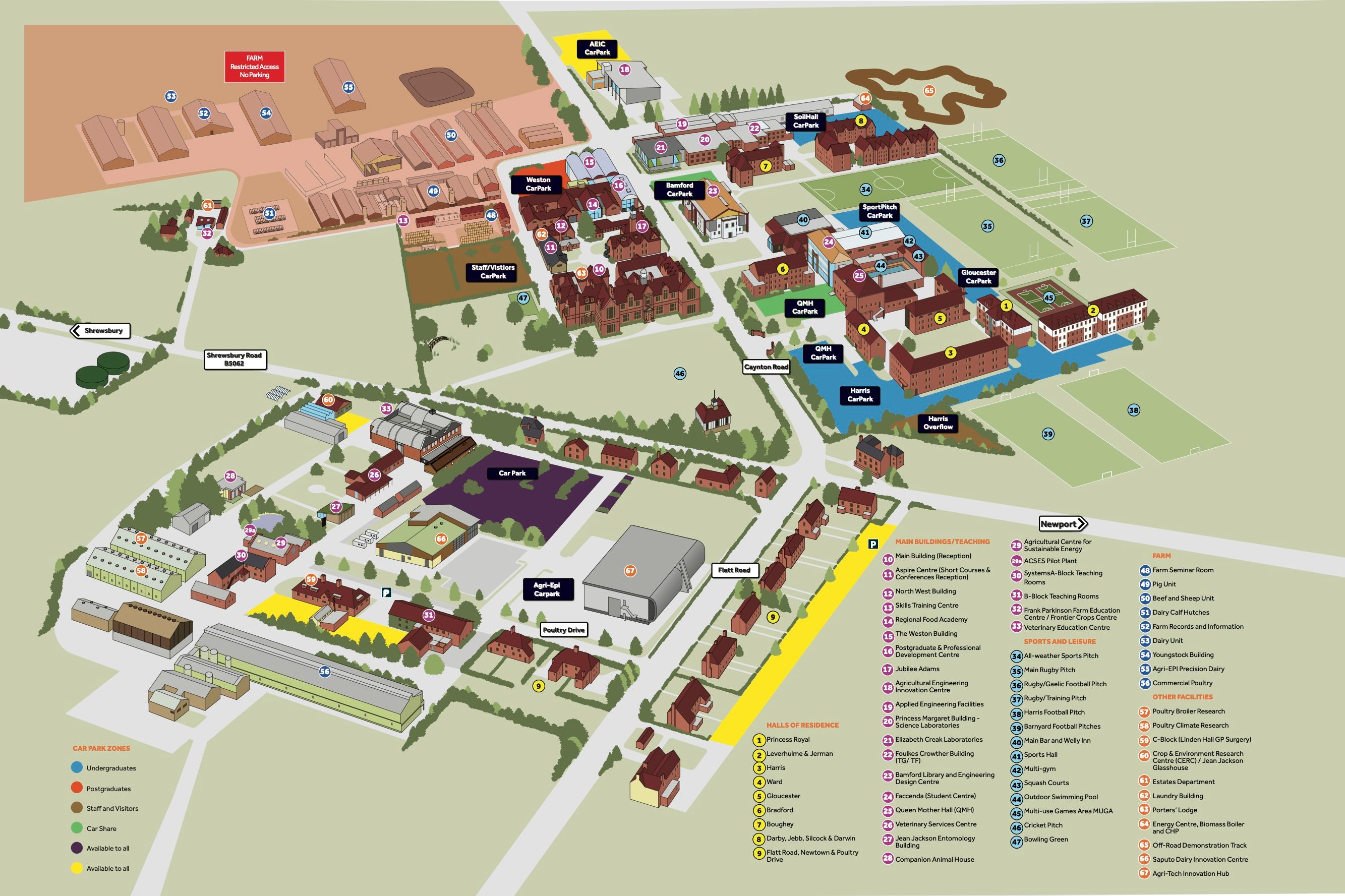 harper adams university newport