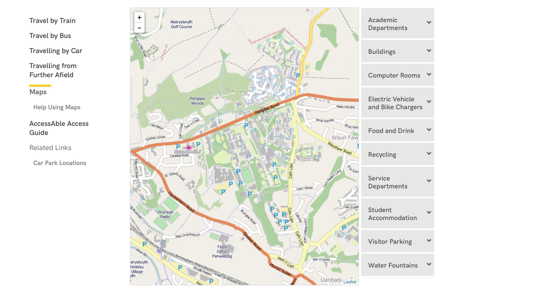 aberystwyth university (web only)