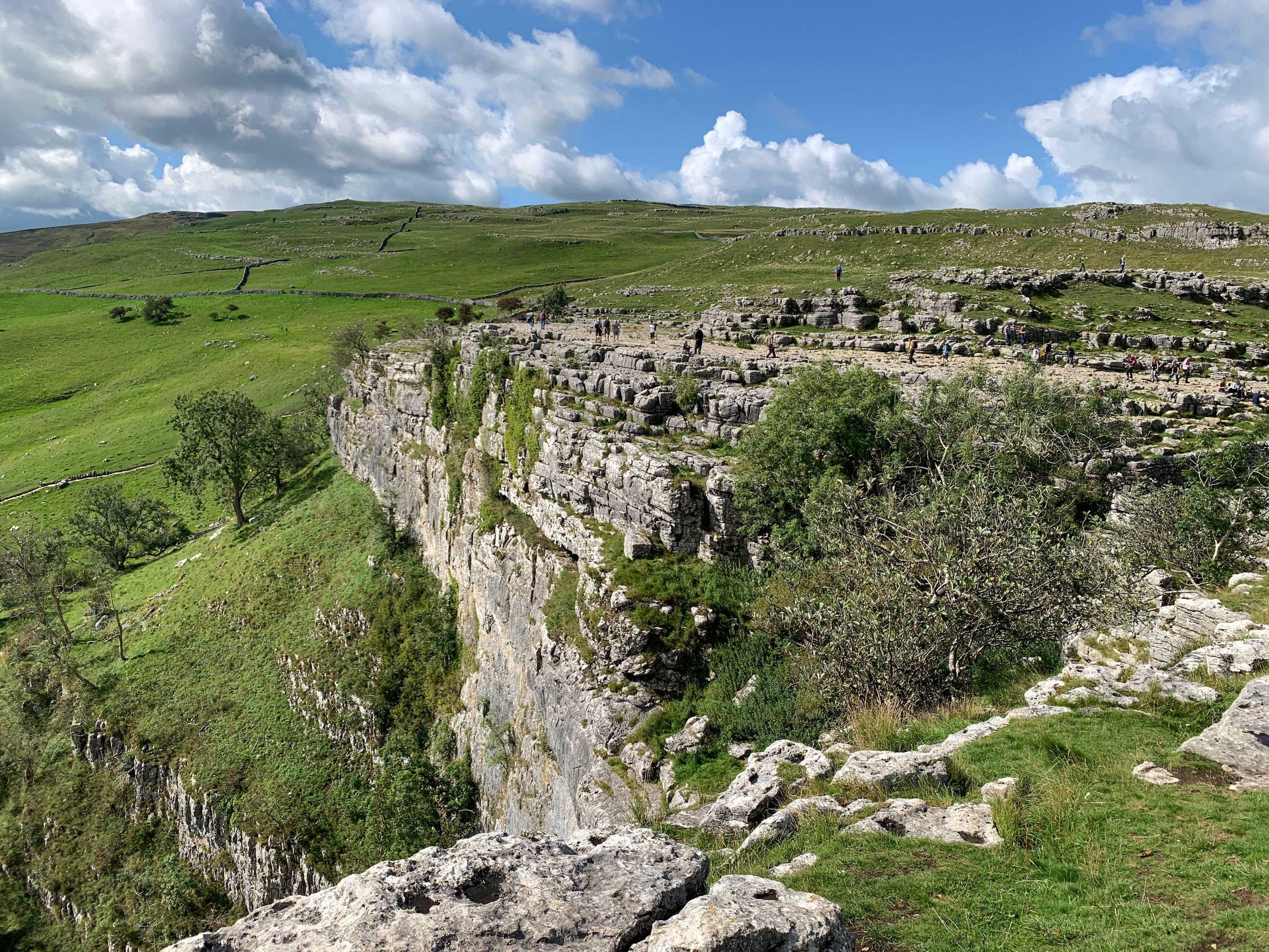 Other side of Malham Cove from the top