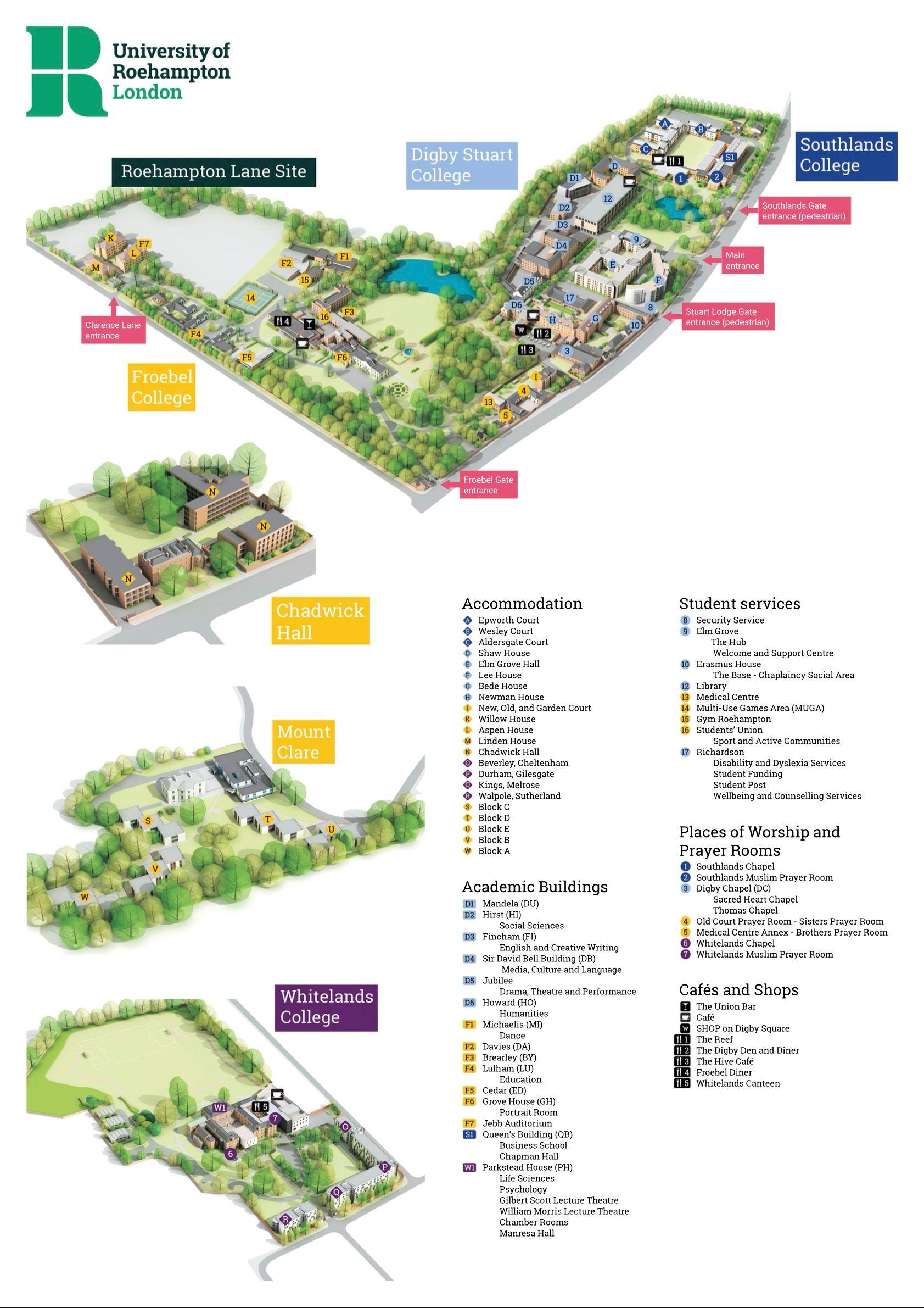 university of roehampton london