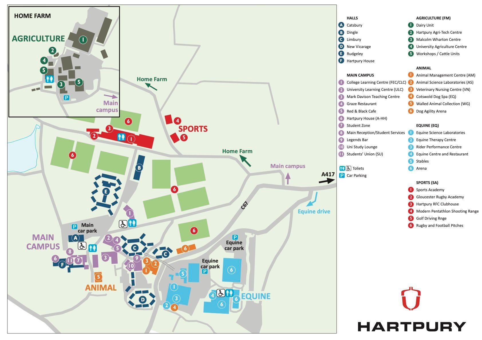 hartpury university gloucester