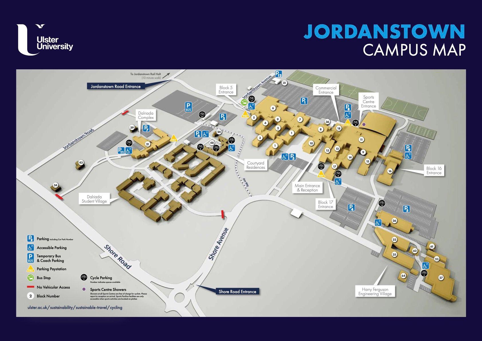 ulster university jordanstown