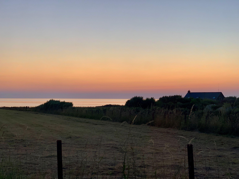 sunset at llan-non