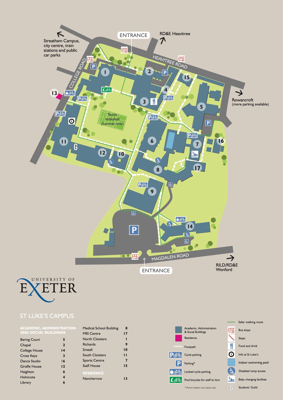 university of exeter st lukes