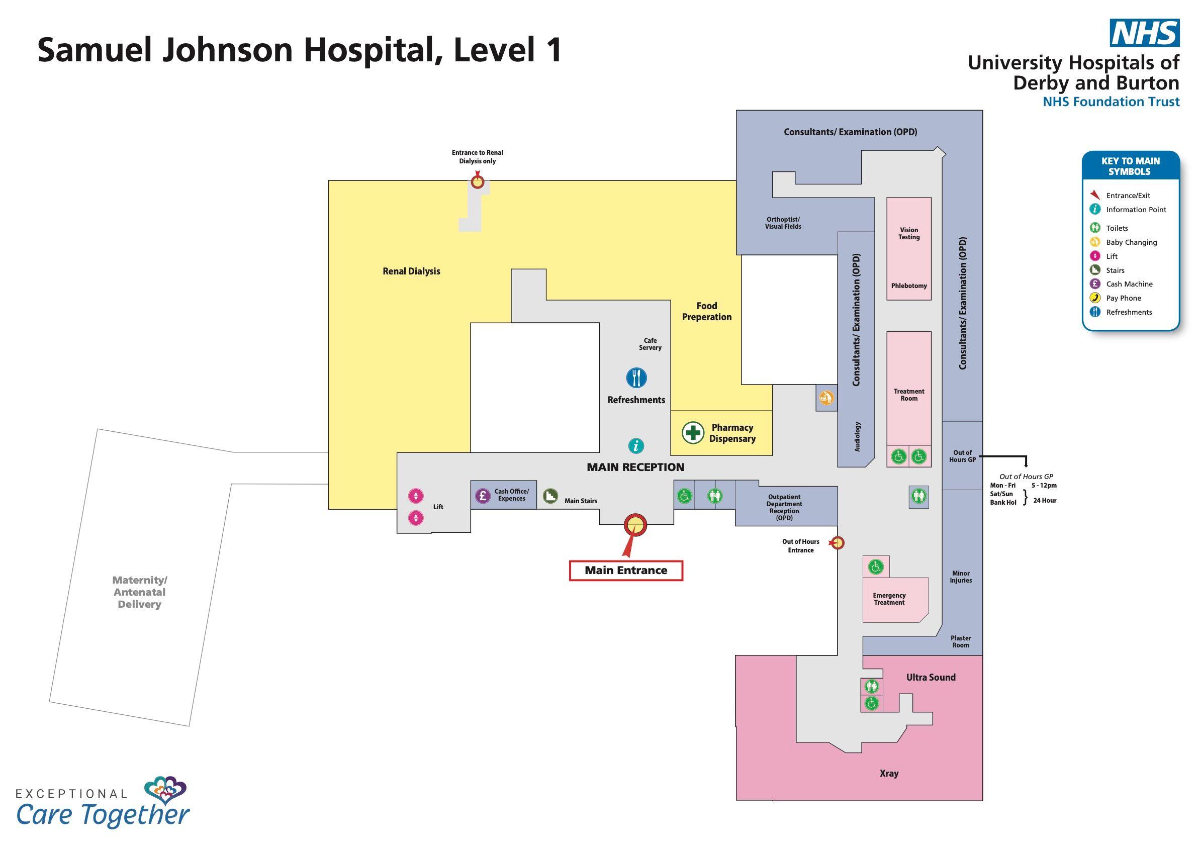 samuel johnson hospital