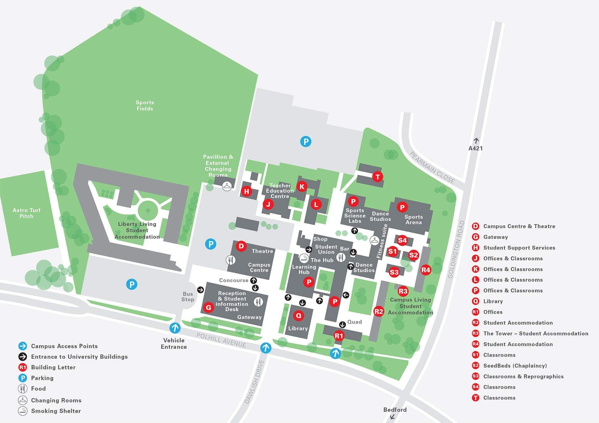 university of bedfordshire bedford