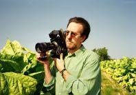 Ross McElwee shooting Bright Leaves