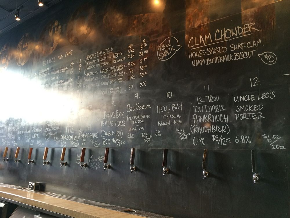 Board and Taps at Stillwell