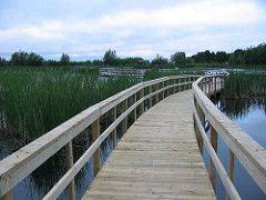 Walkway in Sackville, New Brunswick